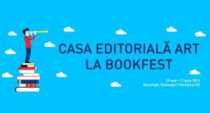 Casa editorială ART la Bookfest 2019: peste 100 de noutăți