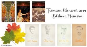 Toamna literară 2014 – Noutăți la Editura Nemira