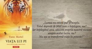 """Care ți-e povestea? – """"Viața lui Pi"""", de Yann Martel"""