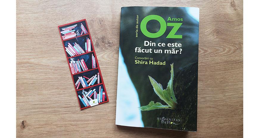 """Darul literaturii, despre """"Din ce e făcut un măr?"""", de Amos Oz și Shira Hadad"""