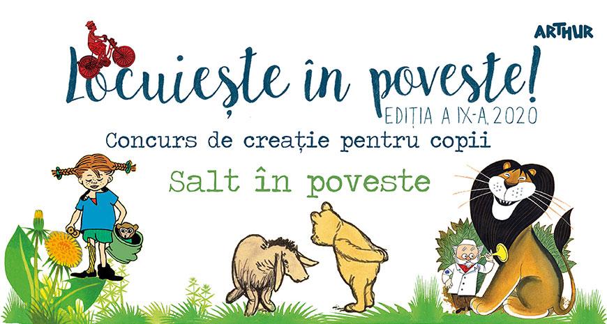 """""""Locuiește în poveste!"""" – un nou concurs Arthur pentru copii"""