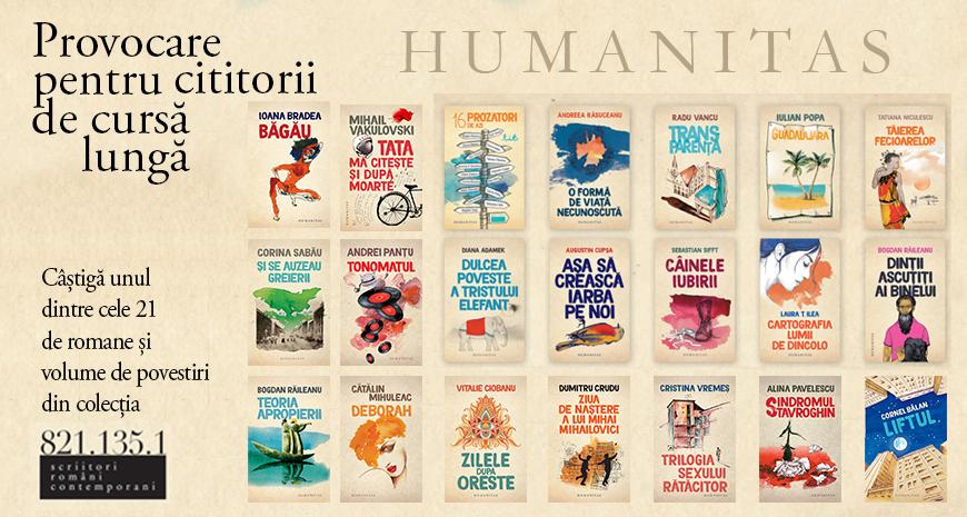 Provocarea Humanitas pentru Clubul cititorilor de cursă lungă [ÎNCHEIAT]