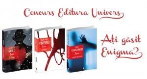 Concurs Editura Univers: Ați găsit Enigma? (încheiat)