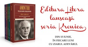 """Editura Litera lansează seria """"Kronika"""": 5 volume despre culisele celor mai interesante evenimente politice, sociale și financiare"""