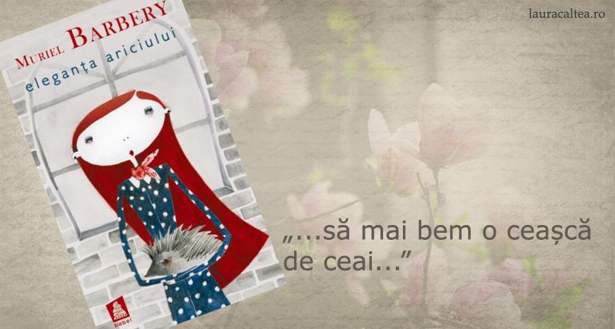 """""""Eleganța ariciului"""", de Muriel Barbery"""