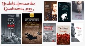 Noutățile Grupului Editorial Humanitas la Gaudeamus 2015