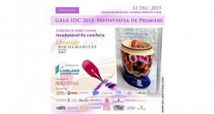 Gala IDC 2015 găzduită de Librăria Humanitas Krețulescu