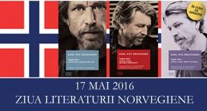 Cu ocazia Zilei Naționale a Norvegiei,  Editura Litera declară 17 mai Ziua Literaturii Norvegiene