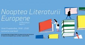 Ediția aniversară, a V-a, a Nopții Literaturii Europene la București