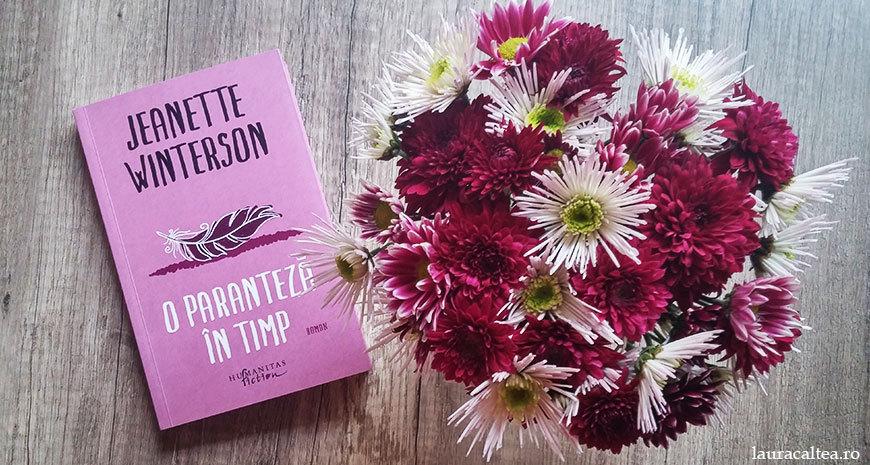 """O poveste despre iertare, despre """"O paranteză în timp"""", de Jeanette Winterson"""
