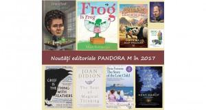Noutăți editoriale Pandora M & PanDA în 2017