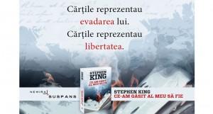 """Stephen King revine la editura Nemira cu romanul """"Ce-am găsit al meu să fie"""""""