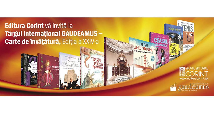 Editura Corint la Târgul Internațional Gaudeamus 2017