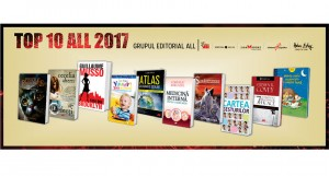 Cele mai vândute titluri ale Editurii ALL în 2017 și cele mai așteptate cărți pentru anul 2018
