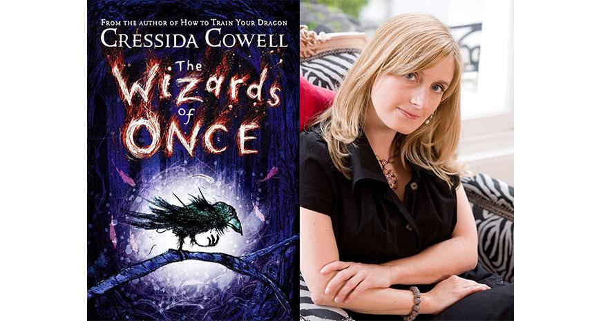 """Cressida Cowell câștigă Blue Peter Book Award pentru """"The Wizards of Once"""", în curs de apariție la Nemi"""