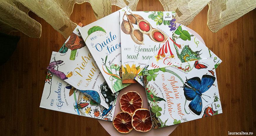 """Magia naturii"" de Dianna Hutts Aston și Sylvia Long"