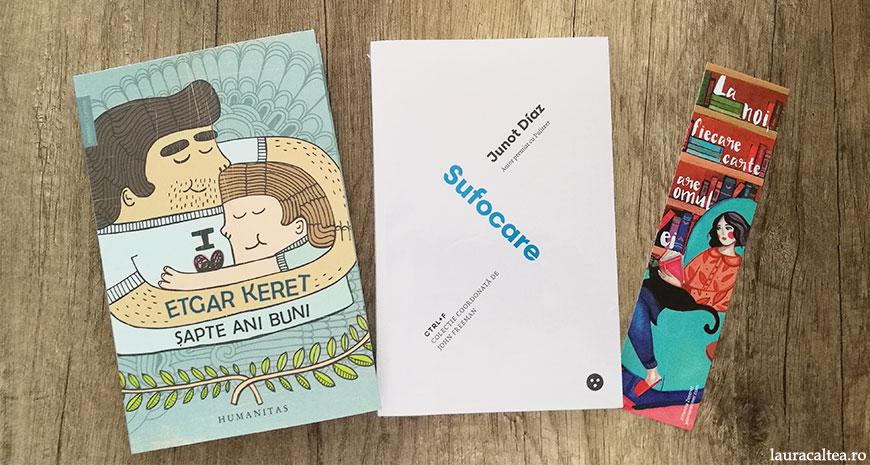 """Concurs Librarium TNB: """"Șapte ani buni"""", de Etgar Keret, și """"Sufocare"""", de Junot Díaz"""