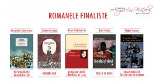"""Romanele finaliste la Premiul literar """"Augustin Frăţilă"""", ediţia a III-a"""